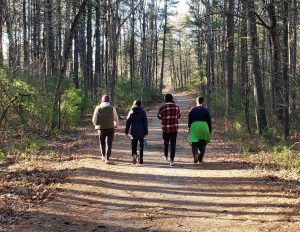 Cobi and Siblings Hike Locally