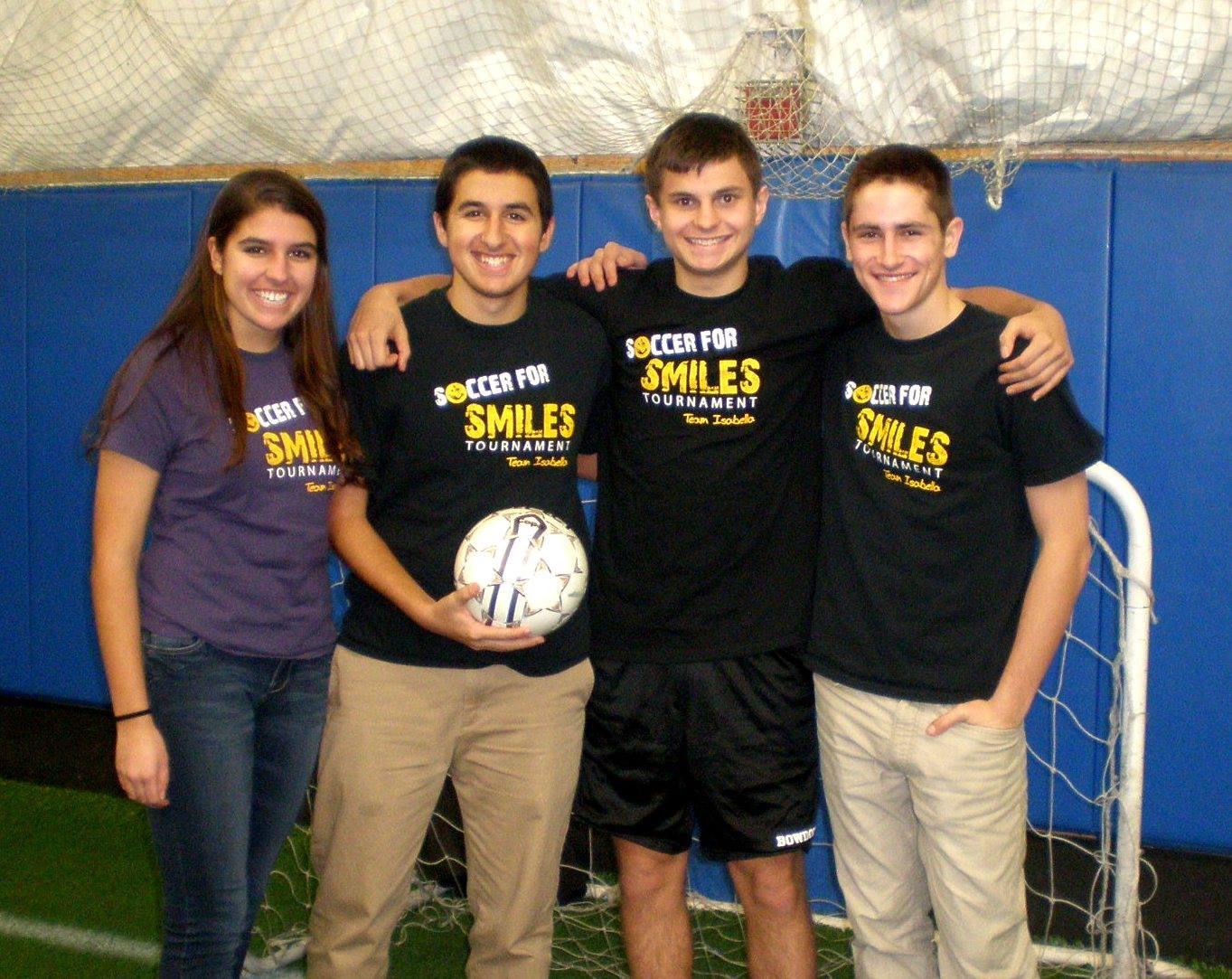 Cobi Frongillo and Friends Soccer for Smiles