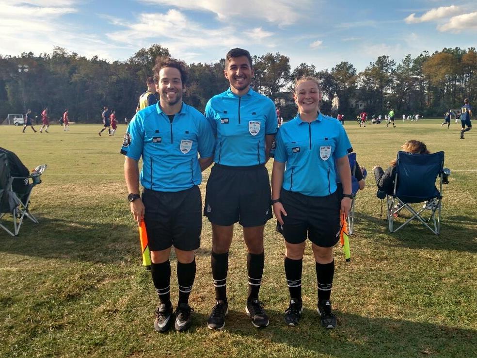 Cobi Frongillo Soccer Referee